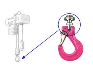 Adaptor rotativ pt. dispozitive de ridicare Demag PK