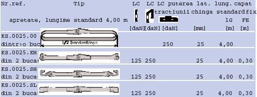 Incuietoare pentru fixare Spannfix 250 Kg